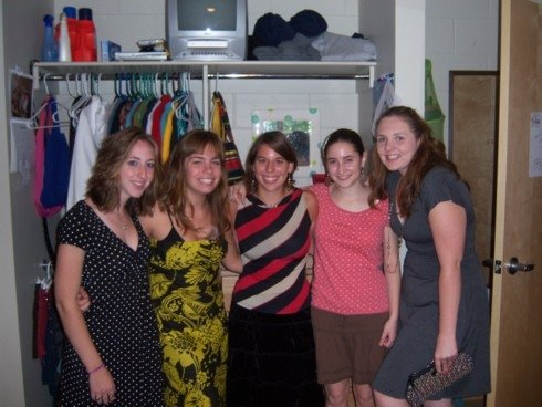 My freshmen roommates and RA, who have gone on to be amazing people.