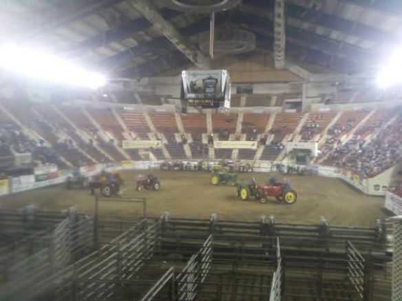 Tractor Square Dance - only at the PA Farm Show