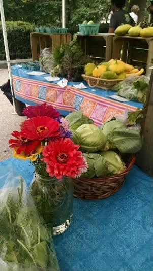 market stand